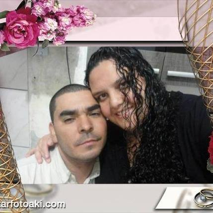 foto de um casal