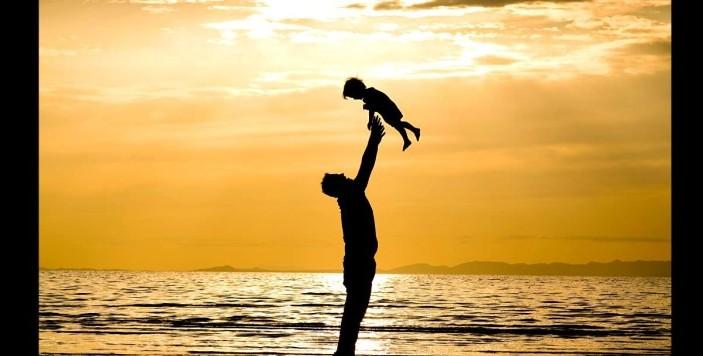 imagem de pai e filho