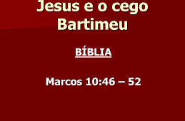 Jesus e Bartimeu