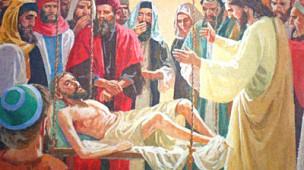 Cura do paralítico de Cafarnaum