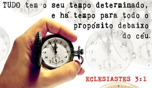 Tempo determinado por Deus