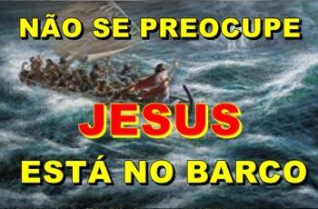 Jesus está no barco
