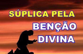 súplica pela benção divina